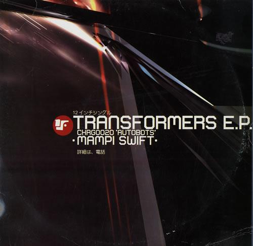 "Mampi Swift Transformers EP - Autobots 12"" vinyl single (12 inch record / Maxi-single) UK M6V12TR560605"