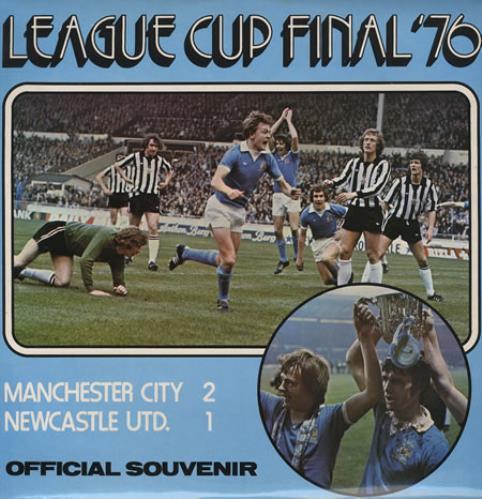 Manchester City F.C. League Cup Final '76 vinyl LP album (LP record) UK GCGLPLE374624