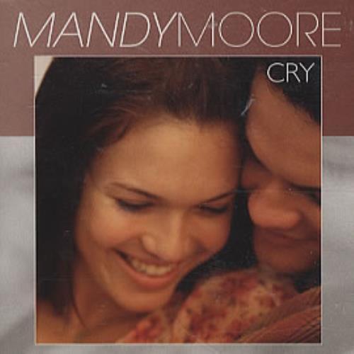 "Mandy Moore Cry CD single (CD5 / 5"") US MDMC5CR208651"