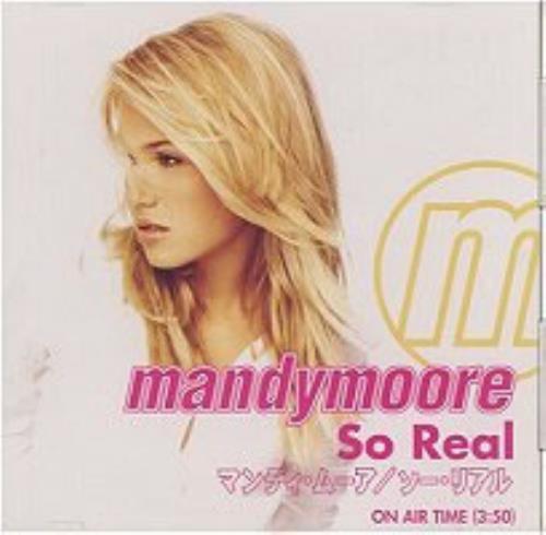 Mandy Moore So Real Cd Single Cd5 5 Anese Mdmc5so164264