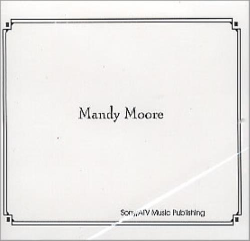 Mandy Moore Whole Of The Moon CD-R acetate US MDMCRWH288116