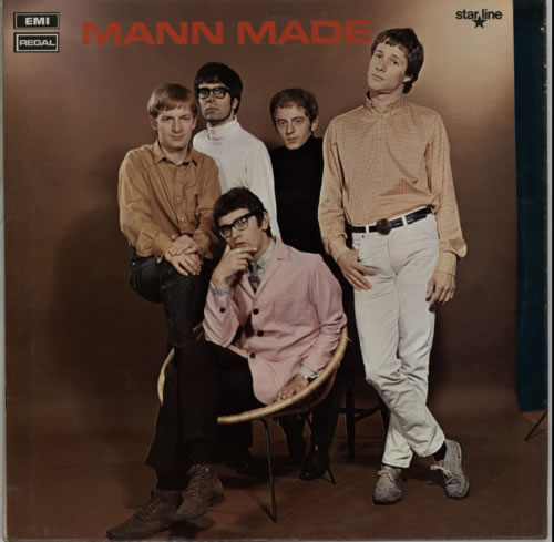 Manfred Mann Mann Made - Factory Sample vinyl LP album (LP record) UK MFMLPMA70678
