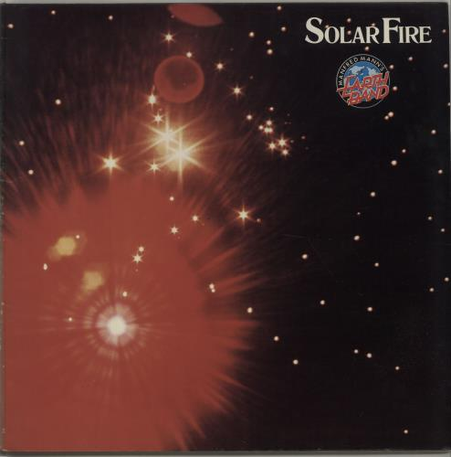 Manfred Mann Solar Fire vinyl LP album (LP record) UK MFMLPSO674658