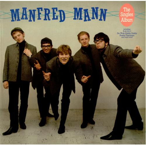 Manfred Mann The Singles Album UK vinyl LP album (LP