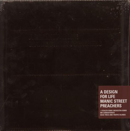 "Manic Street Preachers A Design For Life - Twentieth Anniversary Edition - RSD 12"" vinyl single (12 inch record / Maxi-single) UK MAS12AD650999"