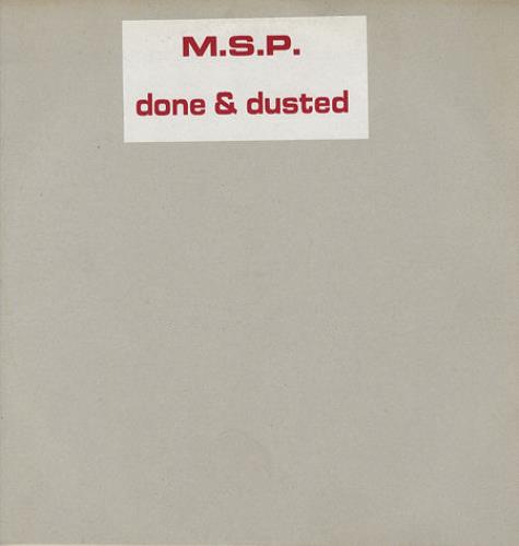 "Manic Street Preachers Done & Dusted 12"" vinyl single (12 inch record / Maxi-single) UK MAS12DO78412"