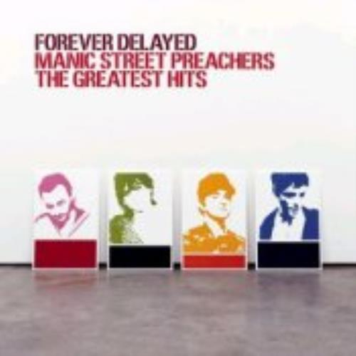 Manic Street Preachers Forever Delayed - The Greatest Hits 2-LP vinyl record set (Double Album) UK MAS2LFO226432
