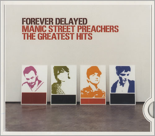Manic Street Preachers Forever Delayed: The Greatest Hits CD album (CDLP) German MASCDFO456178