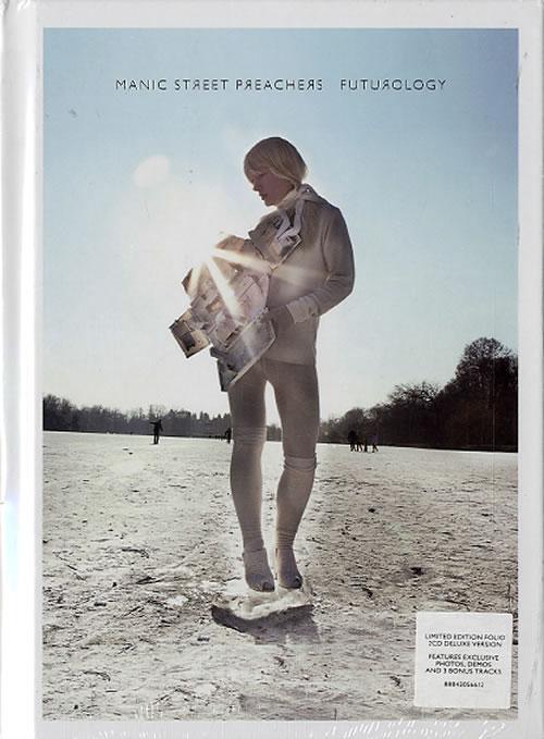 Manic Street Preachers Futurology 2 CD album set (Double CD) UK MAS2CFU628758