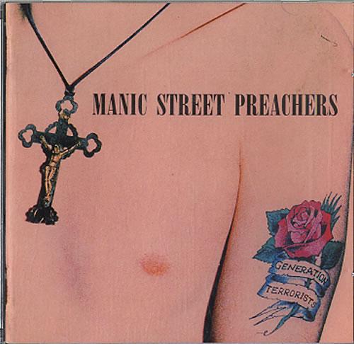 Manic Street Preachers Generation Terrorists CD album (CDLP) UK MASCDGE616557