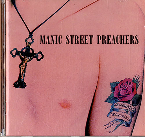 Manic Street Preachers Generation Terrorists CD album (CDLP) UK MASCDGE620940