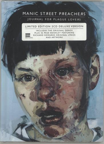 Manic Street Preachers Journal For Plague Lovers - Sealed 2 CD album set (Double CD) UK MAS2CJO465919