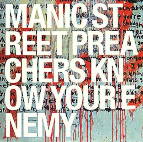 Manic Street Preachers Know Your Enemy CD album (CDLP) UK MASCDKN179007
