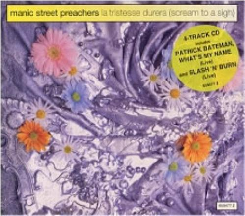 "Manic Street Preachers La Tristesse Durera - Hype Stickered Digipak CD single (CD5 / 5"") UK MASC5LA33084"