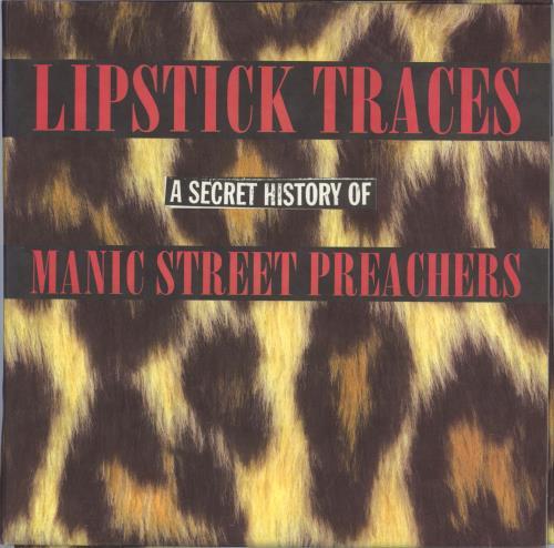 Manic Street Preachers Lipstick Traces (A Secret History of Manic Street Preachers) 3-LP vinyl record set (Triple Album) UK MAS3LLI329786