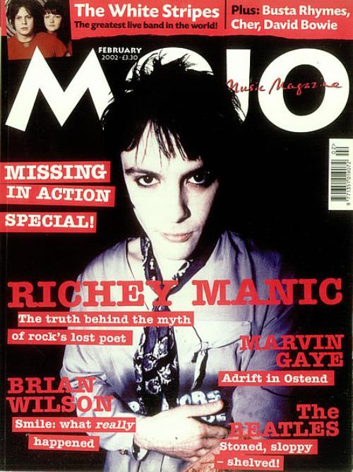 Manic Street Preachers Mojo magazine UK MASMAMO447400