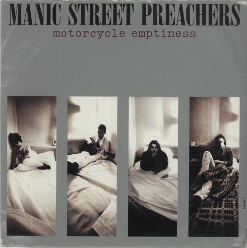"Manic Street Preachers Motorcycle Emptiness 7"" vinyl single (7 inch record) UK MAS07MO43305"