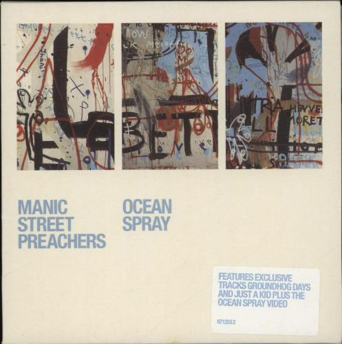 Manic Street Preachers Ocean Spray 2-CD single set (Double CD single) UK MAS2SOC187042