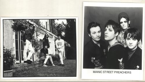 Manic Street Preachers Quantity of Publicity Photos photograph UK MASPHQU719578