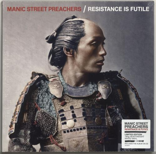 Manic Street Preachers Resistance Is Futile - White Vinyl - Sealed vinyl LP album (LP record) UK MASLPRE694469