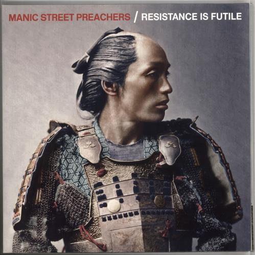 Manic Street Preachers Resistance Is Futile - White Vinyl vinyl LP album (LP record) UK MASLPRE741260