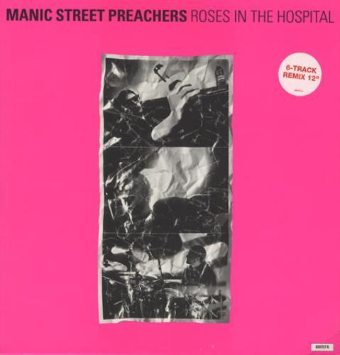 "Manic Street Preachers Roses In The Hospital - EX 12"" vinyl single (12 inch record / Maxi-single) UK MAS12RO75863"