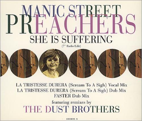 "Manic Street Preachers She Is Suffering - CD2 CD single (CD5 / 5"") UK MASC5SH38619"