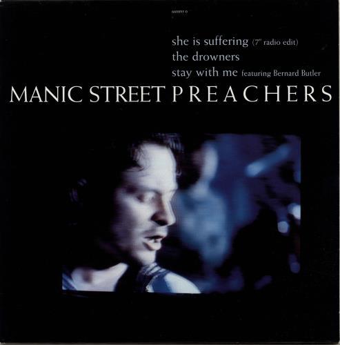 "Manic Street Preachers She Is Suffering - EX 10"" vinyl single (10"" record) UK MAS10SH704592"