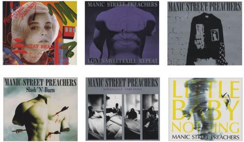 Manic Street Preachers Six Singles From Generation Terrorists box set UK MASBXSI126123