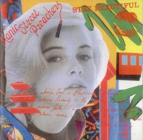 "Manic Street Preachers Stay Beautiful CD single (CD5 / 5"") Japanese MASC5ST535116"