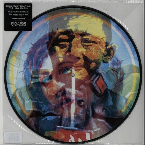 Manic Street Preachers The Holy Bible 20 picture disc LP (vinyl picture disc album) UK MASPDTH642101