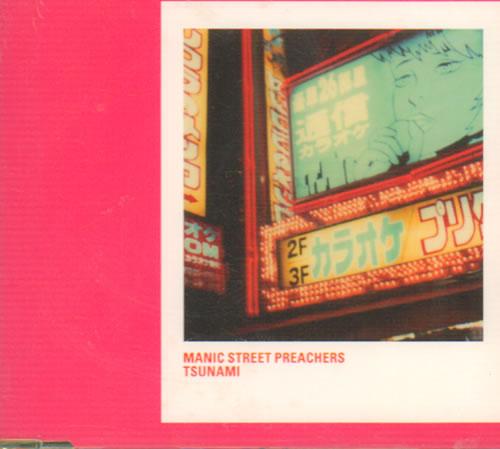 "Manic Street Preachers Tsunami CD single (CD5 / 5"") UK MASC5TS640538"
