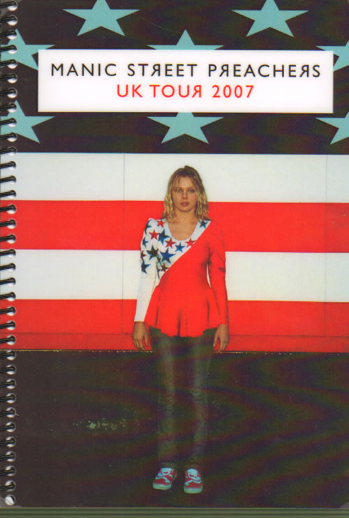 Manic Street Preachers UK Tour 2007 Itinerary UK MASITUK640917