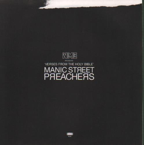 "Manic Street Preachers Verses From The Holy Bible 7"" vinyl single (7 inch record) UK MAS07VE51701"