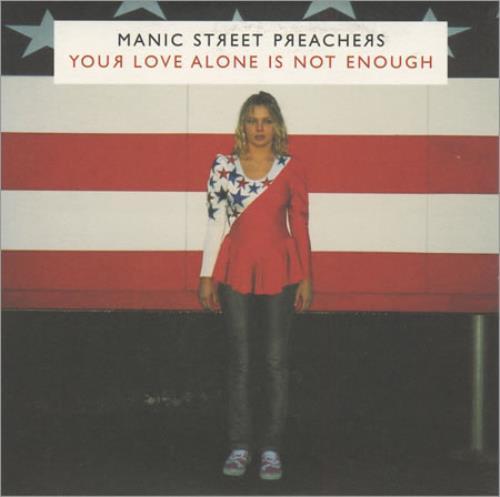 """Manic Street Preachers You Love Alone Is Not Enough CD single (CD5 / 5"""") UK MASC5YO400090"""