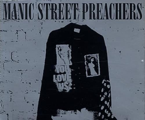 "Manic Street Preachers You Love Us CD single (CD5 / 5"") UK MASC5YO120404"