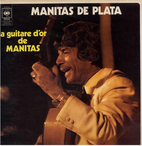 Manitas De Plata La Guitare D'or De Manitas vinyl LP album (LP record) UK NL1LPLA557899