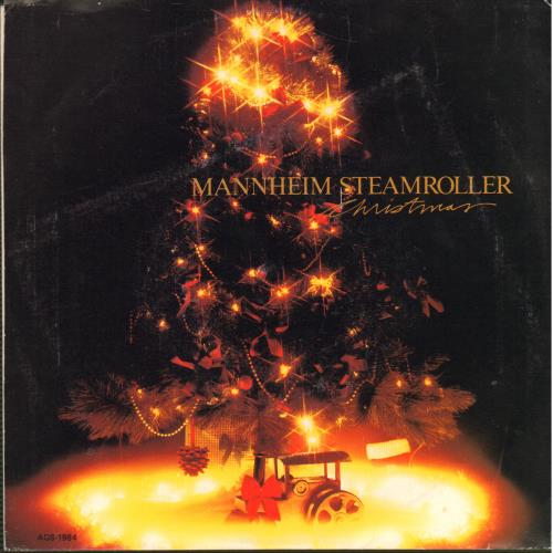 "Mannheim Steamroller Christmas 7"" vinyl single (7 inch record) Canadian EIM07CH645334"