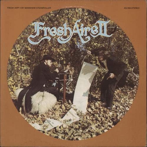 Mannheim Steamroller Fresh Aire II vinyl LP album (LP record) US EIMLPFR707416