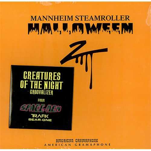 "Mannheim Steamroller Halloween 2 - Blue Vinyl + DVD - Sealed 12"" vinyl single (12 inch record / Maxi-single) US EIM12HA409963"