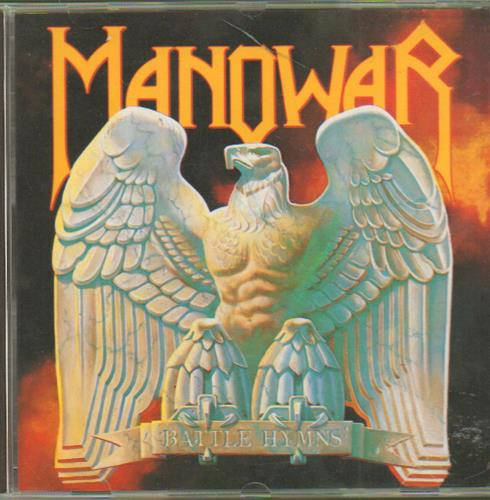 Manowar Battle Hymns CD album (CDLP) Dutch MOWCDBA654104