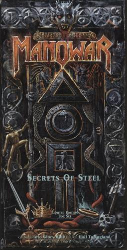 Manowar Secrets Of Steel box set German MOWBXSE595027