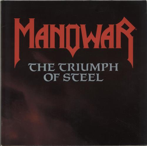 Manowar The Triumph Of Steel - Gatefold 2-LP vinyl record set (Double Album) German MOW2LTH690992