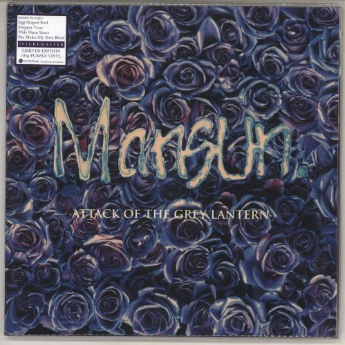 Mansun Attack Of The Grey Lantern - 180 Gram Purple Vinyl 2-LP vinyl record set (Double Album) UK M-S2LAT734340