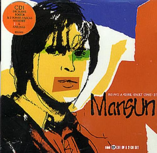 "Mansun Being A Girl - Cd1 CD single (CD5 / 5"") UK M-SC5BE120128"