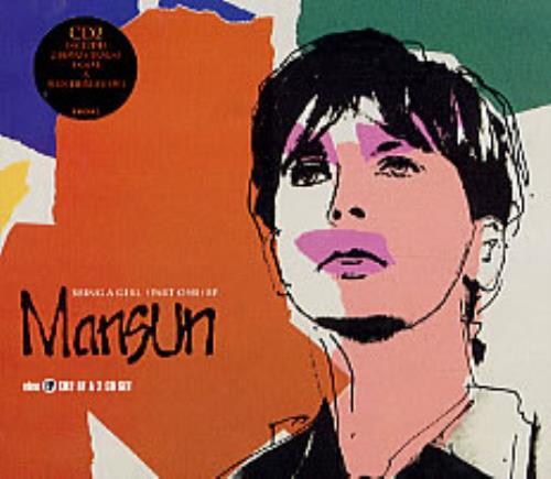 "Mansun Being A Girl - CD2 CD single (CD5 / 5"") UK M-SC5BE120131"
