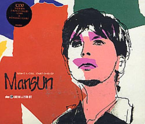 Mansun Being A Girl 2-CD single set (Double CD single) UK M-S2SBE138916