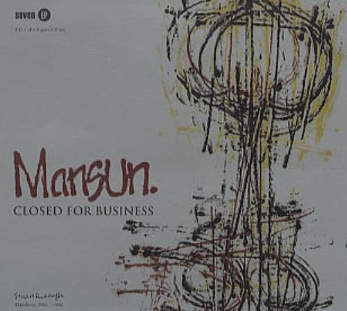 Mansun Closed For Business - Both Parts 2-CD single set (Double CD single) UK M-S2SCL95773