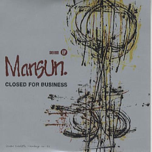 "Mansun Closed For Business E.P. CD single (CD5 / 5"") UK M-SC5CL95006"