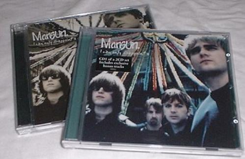 Mansun I Can Only Disappoint U - CD1 & 2 2-CD single set (Double CD single) UK M-S2SIC161916